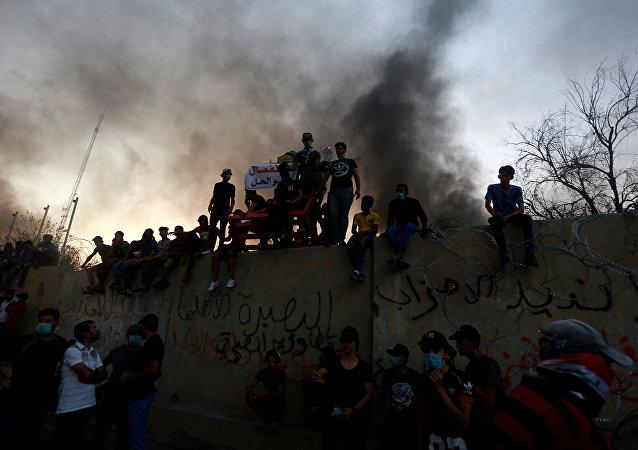 Protestas en Basora, Irak