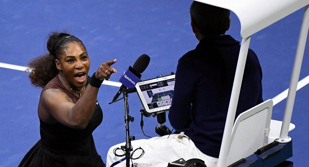 Serena Williams se encara con el árbitro de silla en el US Open
