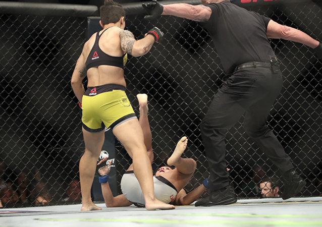 Jessica Andrade noqueó a Karolina Kowalkiewicz