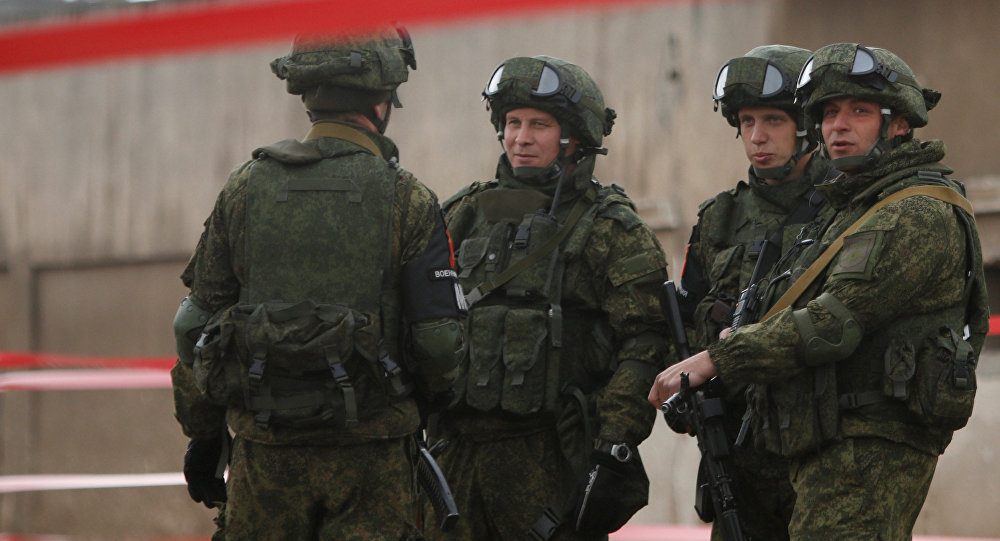 Militares rusos en Siria