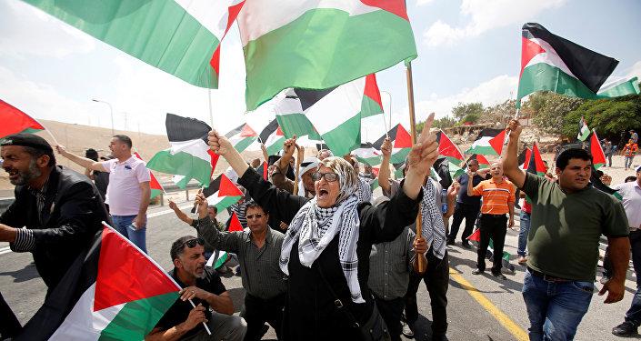 Las protestas en Palestina