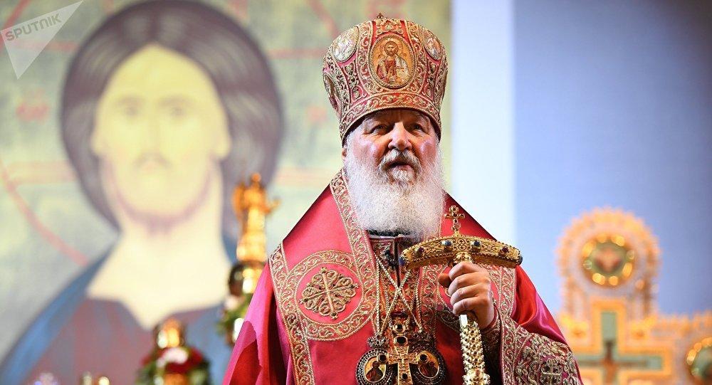 El patriarca de Moscú y toda Rusia Kiril