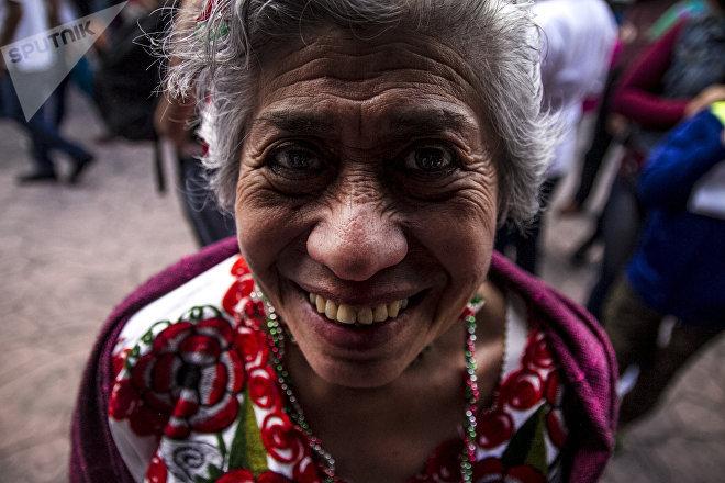 Ángeles Villalobos tiene 70 años y hace 10 que asiste al festival Son para Milo