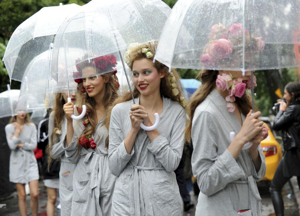 Los atuendos más sensuales de la Semana de la Moda de Nueva York