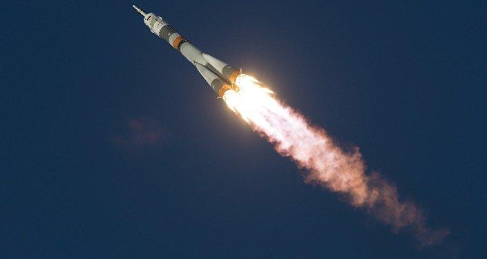 Una nave espacial rusa Soyuz (archivo)