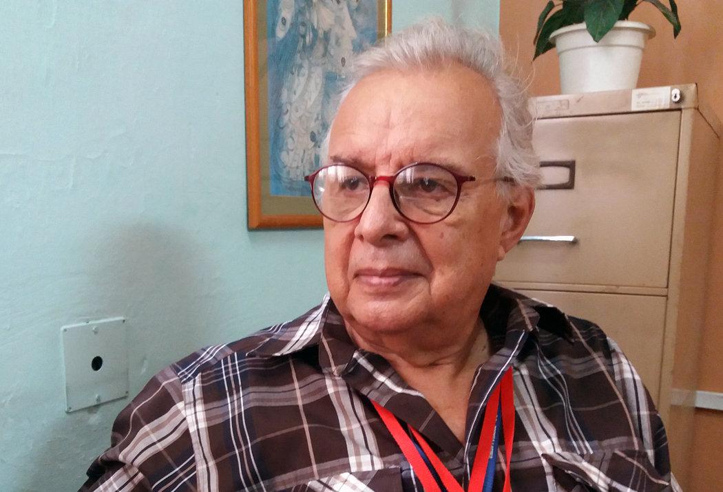 Jorge Luna, el periodista de la agencia Prensa Latina