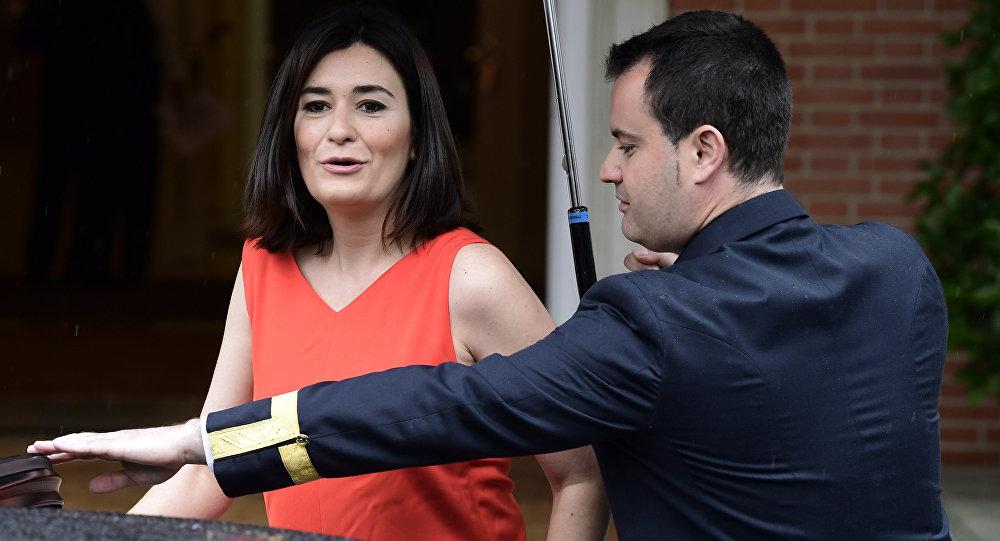 Carmen Montón, ministra española de Sanidad