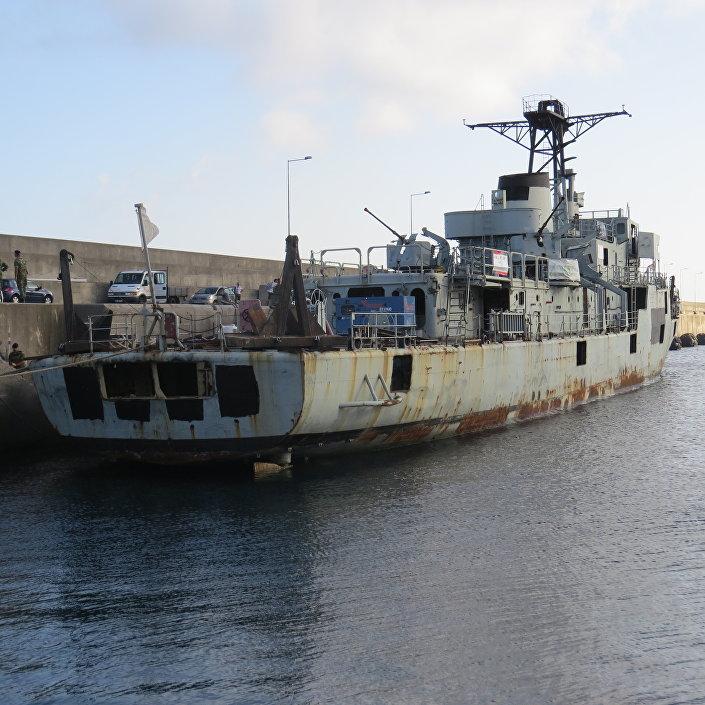 Construida en 1973, la corbeta Afonso Cerqueira sirvió en la Armada lusa hasta 2015