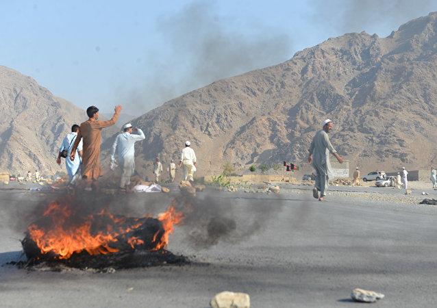Situación en Afganistán (archivo)