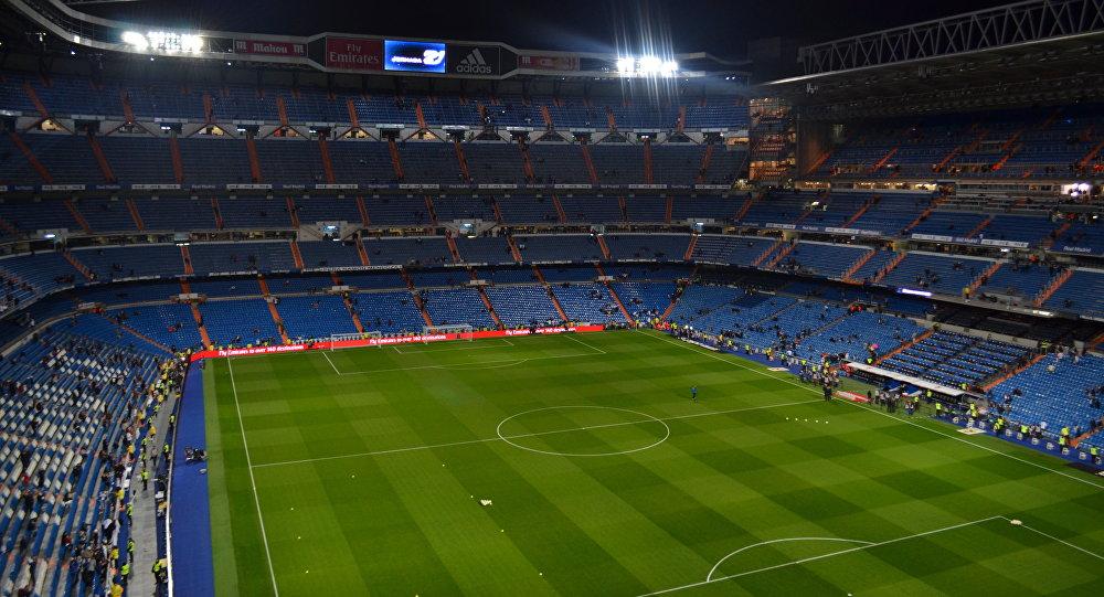 Estadio de Real Madrid, España
