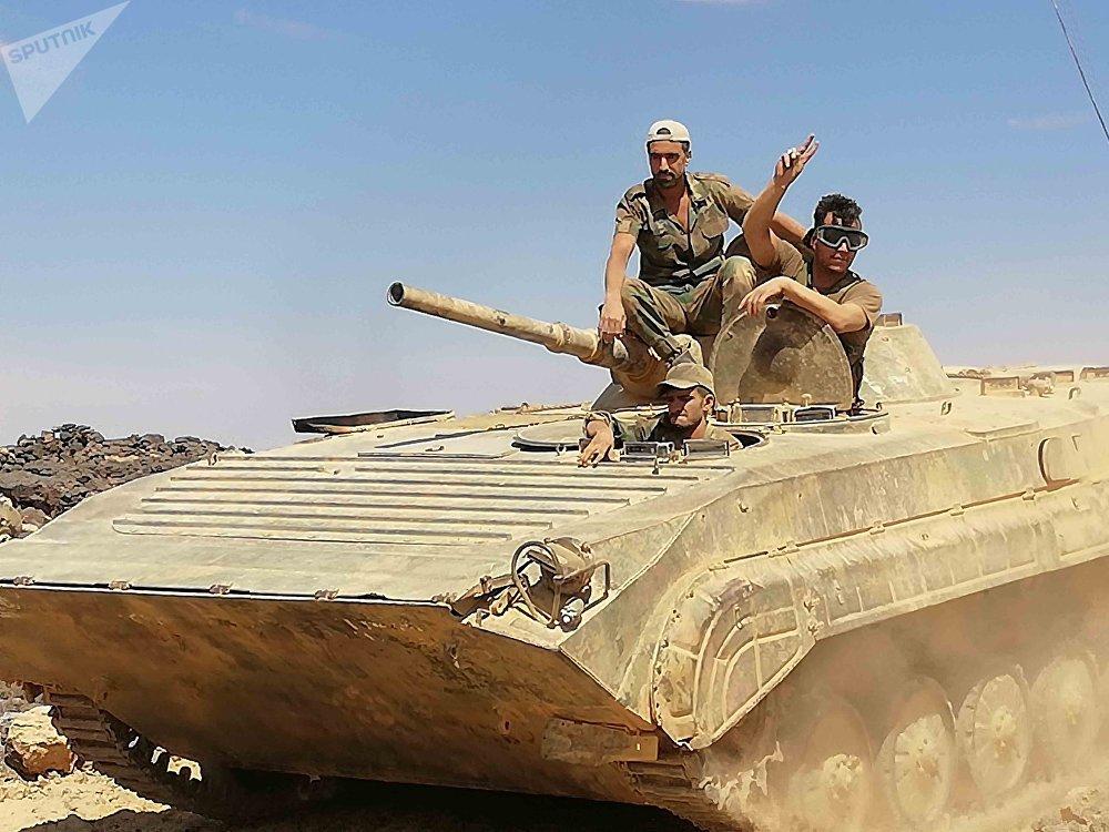 Efectivos del Ejército Árabe Sirio
