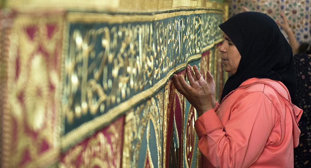 Mujer marroquí