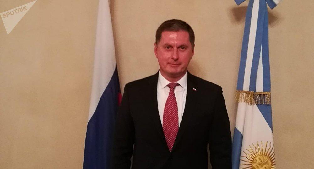 El nuevo embajador de la Federación de Rusia en Argentina, Dmitry Feoktistov