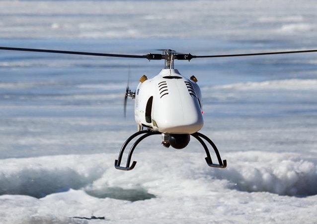 Un dron de la compañía rusa Radar MMS