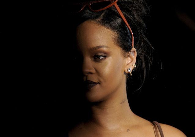 Rihanna, la cantante estadounidense