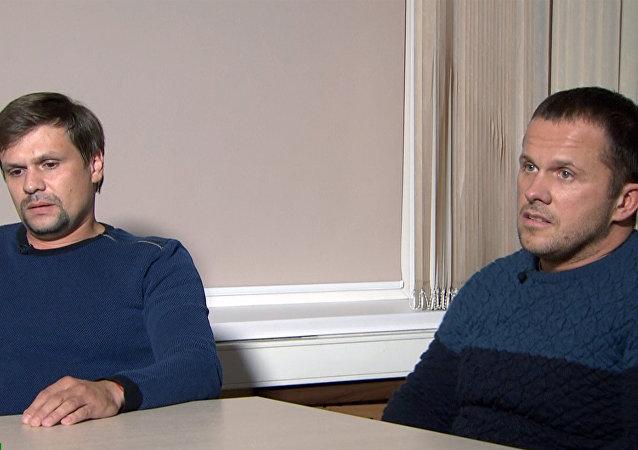 La entrevista de Alexandr Petrov y Ruslán Boshírov al canal RT