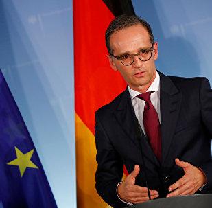 Heiko Maas, ministro de Exteriores alemán