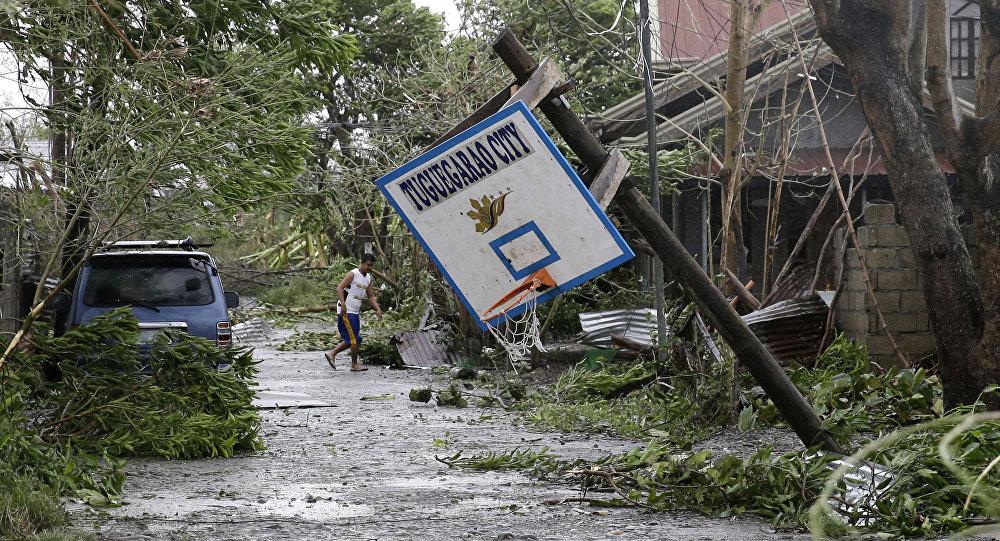 Las consecuencias del supertifón Mangkhut en Filipinas