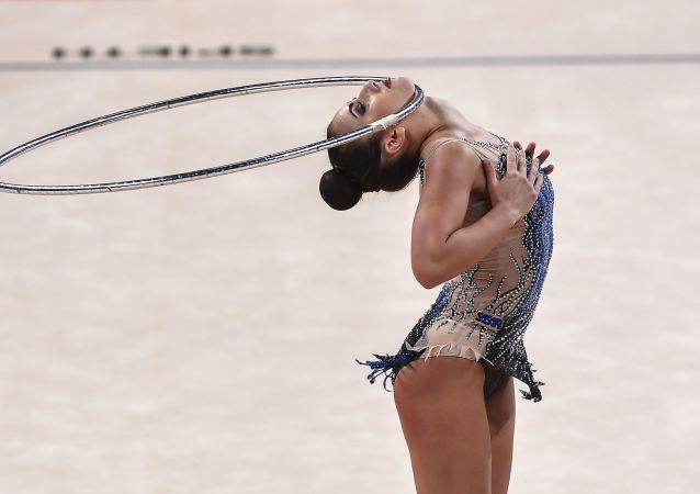 Bellas y elásticas: las mejores fotos del Campeonato Mundial de gimnasia rítmica