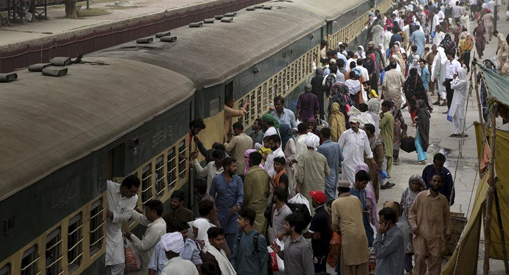 Un tren en Pakistán (archivo)