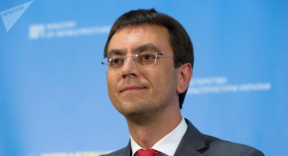 Vladímir Omelián, ministro de Infraestructura de Ucrania