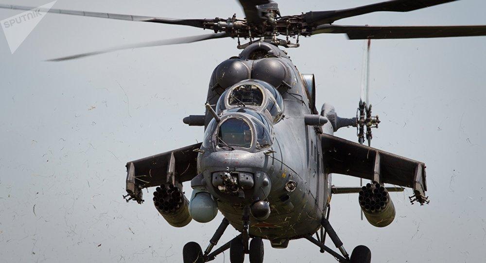 El helicóptero Mi-35M