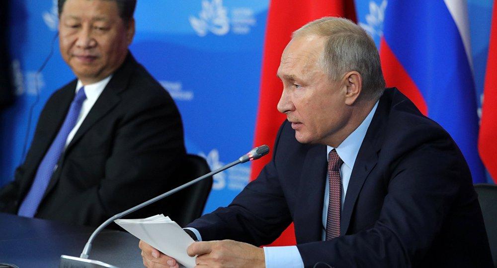 Putin y Xi lanzan contraofensiva a guerra comercial de Estados Unidos