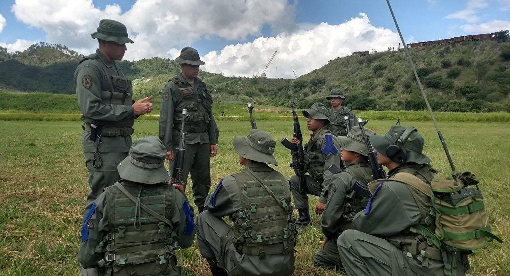 Soldados del Método Táctico de Resistencia Revolucionaria