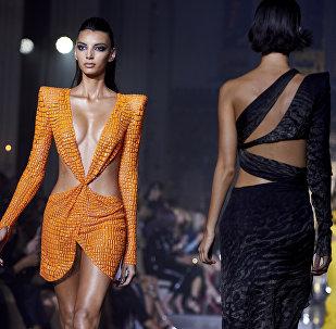 Creatividad y extravagancia: los atuendos más atrevidos de la Semana de la Moda de Londres