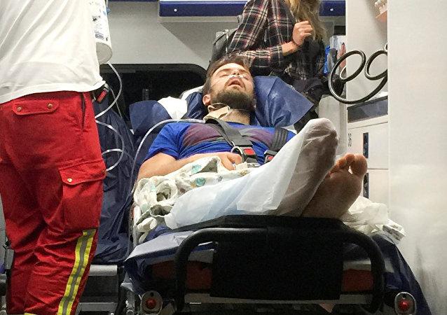 Piotr Verzílov, el activista ruso de arte político, trasladado en un avión médico especial
