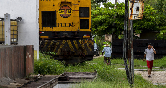 Ferrocarril en Palenque