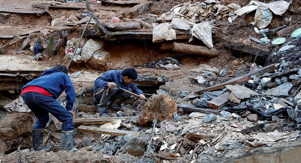 Las consecuencias del tifón Mangkhut