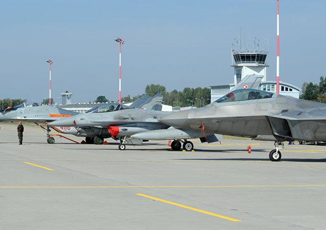 Base militar en Polonia (archivo)