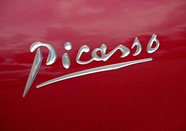La firma de Pablo Picasso (imagen referencial)