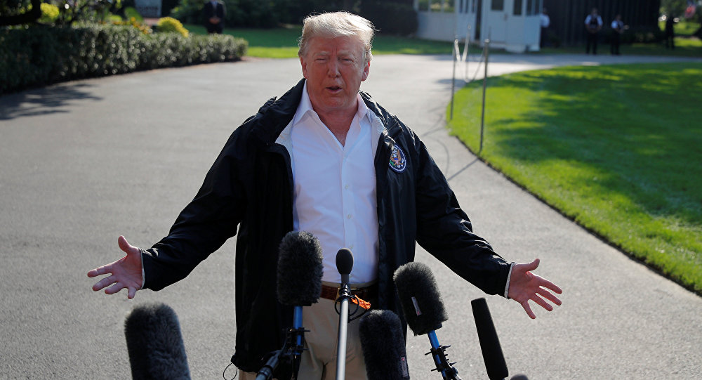 Presidente de EEUU, Donald Trump, en Carolina del Norte