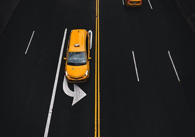 Un taxi (imagen referencial)