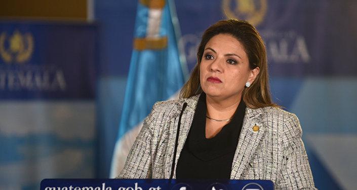 Sandra Jovel, canciller de Guatemala