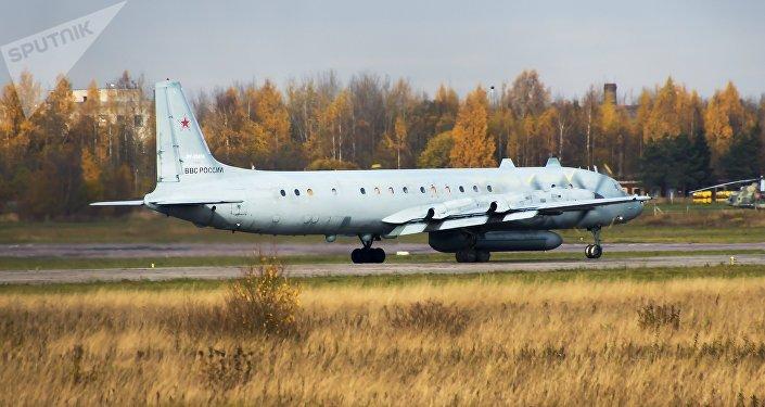 El avión ruso Il-20