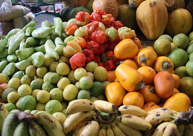 Alimentos de Perú (imagen referencial)