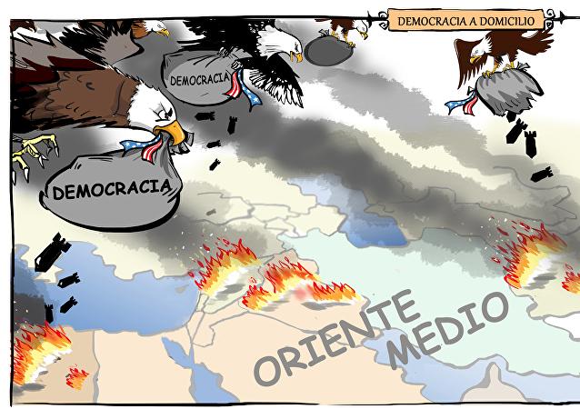 Democracia a domicilio: EEUU comete su peor error entrometiéndose en Oriente Medio