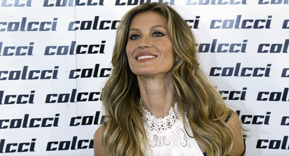 Gisele Bundchen, supermodelo brasileña