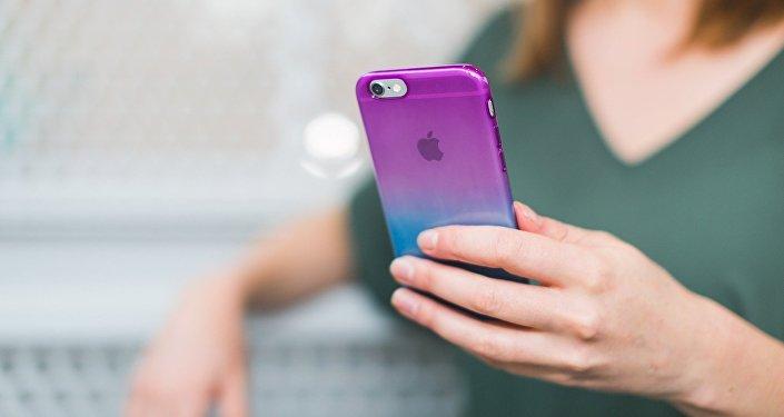 Un teléfono móvil (imagen referencial)