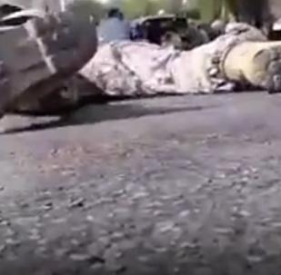 Así se vivió el sangriento atentado de Juzestán durante un desfile militar en Irán