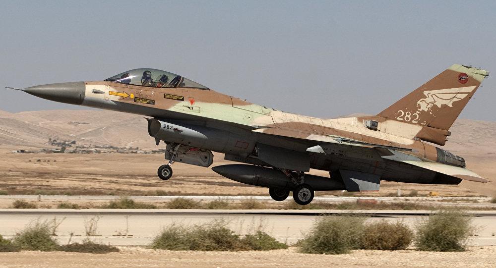Un F-16 israelí (archivo)