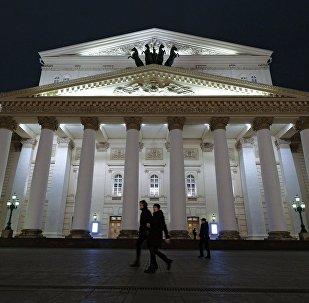 El Teatro Bólshoi de Moscú (archivo)