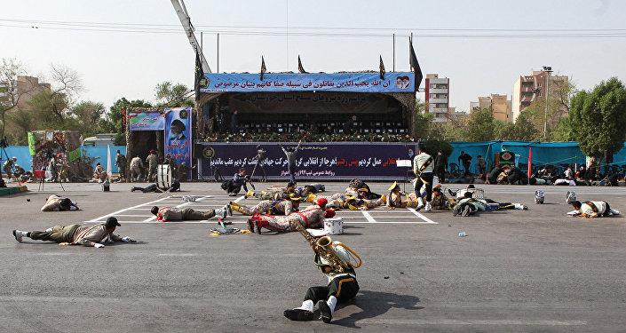 Situación tras el atentado en Ahvaz (archivo)