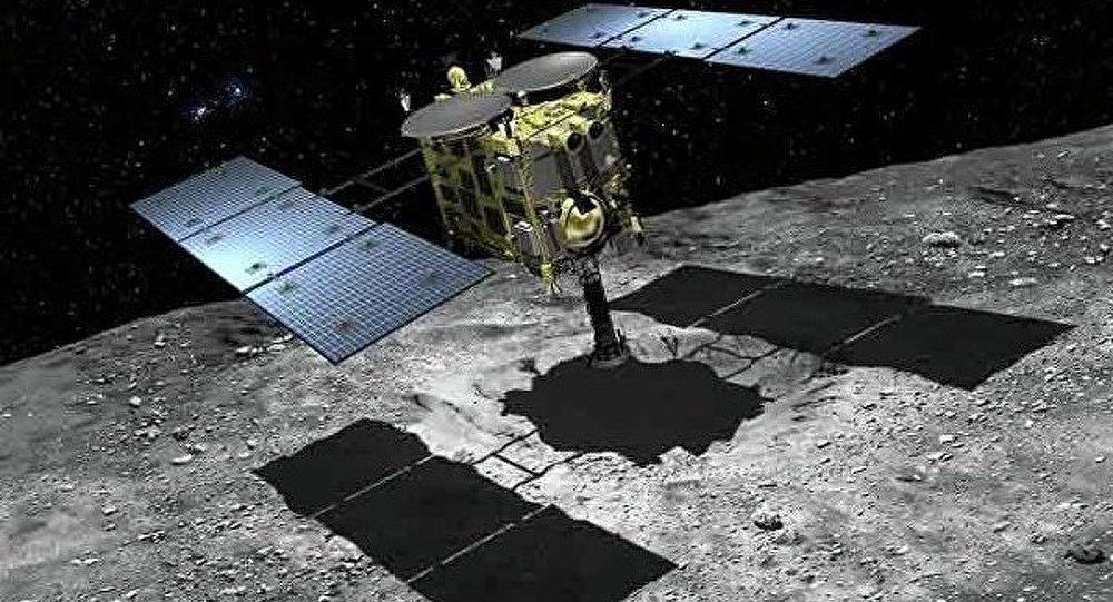 La sonda japonesa Hayabusa 2
