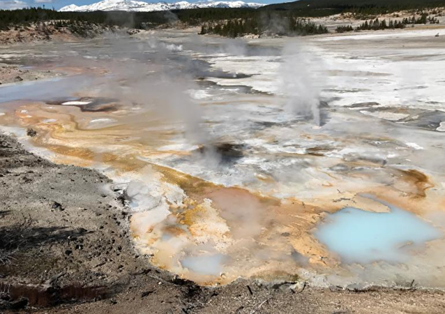 La cuenca alta del parque nacional de Yellowstone
