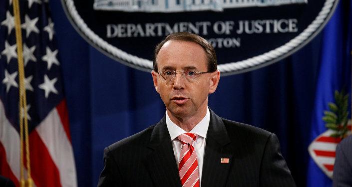 Rod Rosenstein, el vicefiscal general de EEUU