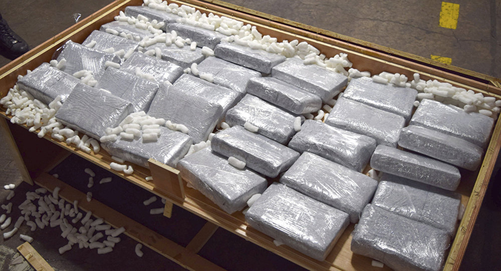 Un cargamento de drogas (archivo)